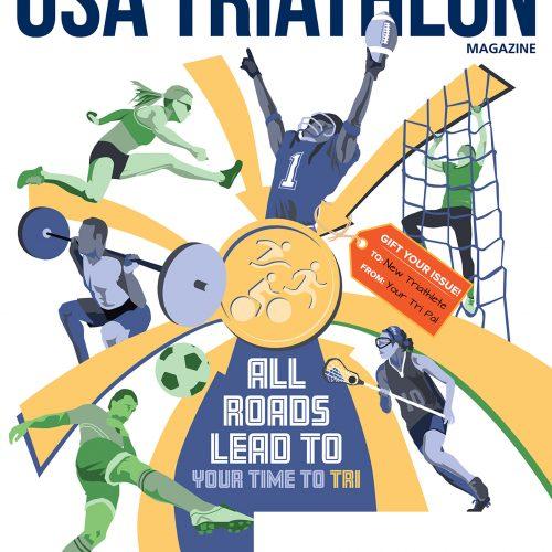 USA Triathlon Magazine Cover