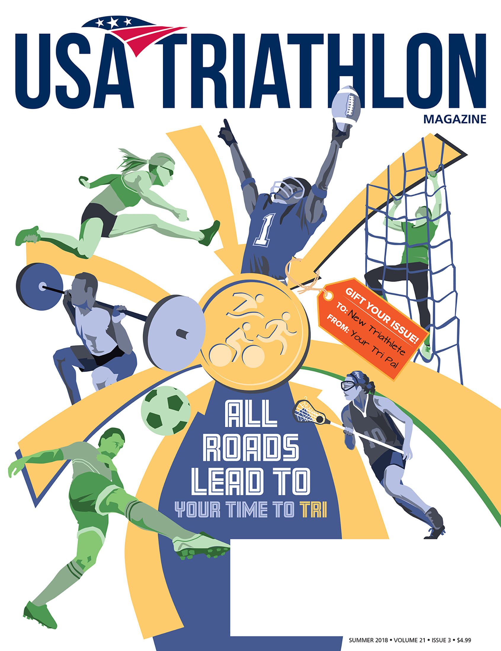 USA Triathlon Magazine Cover
